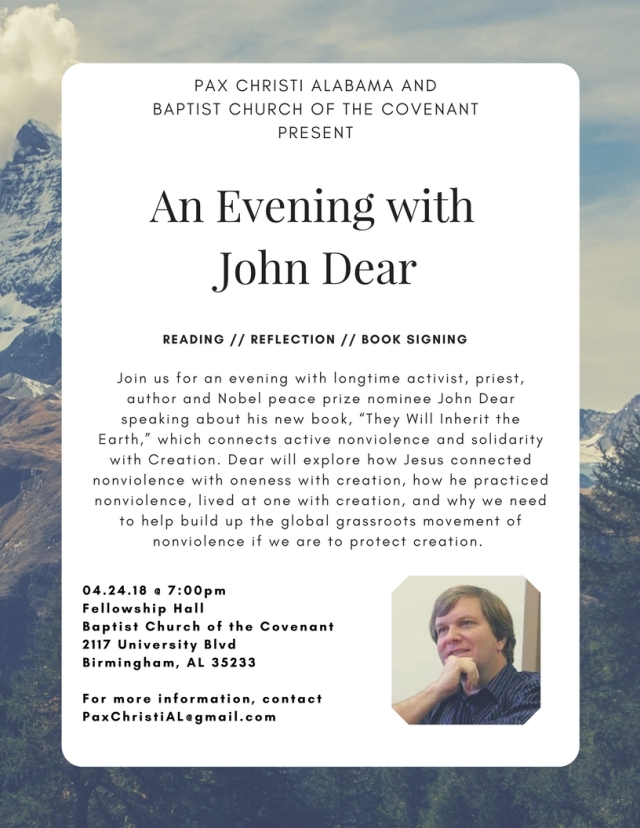 John Dear Flyer color